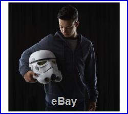 Star Wars Imperial Stormtrooper Electronic Voice Changer Helmet Fan Gift Replica