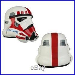 Star Wars Imperial Stormtrooper TK Shock Red Helmet Anovos