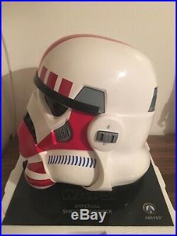 Star Wars Imperial Stormtrooper TK Shock Trooper Helmet Anovos SWHELMET005-SH