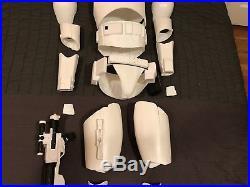 Star Wars Kids-Size First Order Stormtrooper Armor, Helmet & Blaster