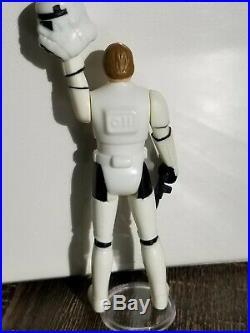 CUSTOM Helmet /& Weapon 1984 Luke//Han Stormtrooper POTF Blaster Vintage Star Wars