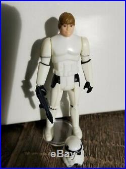 Star Wars Last 17 POTF Vintage Luke Stormtrooper Complete withHelmet Blaster ROTJ