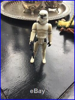 Star Wars Last 17 Vintage Luke Skywalker Stormtrooper Original Helmet and weapon