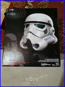 Star Wars Life Size Stormtrooper rubies costume black series helmet prop blaster