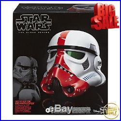 Star Wars Mandalorian Incinerator Stormtrooper Electronic Voice Changer Helmet