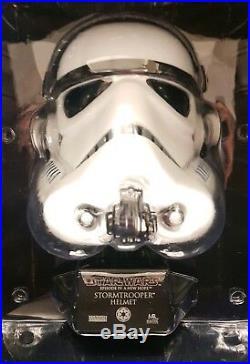 Star Wars Master Replica Stormtrooper Helmet 0.45 scale replica 2007