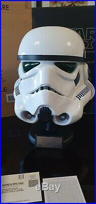 Star Wars Master Replicas 11 Stormtrooper Helmet SW-153LE
