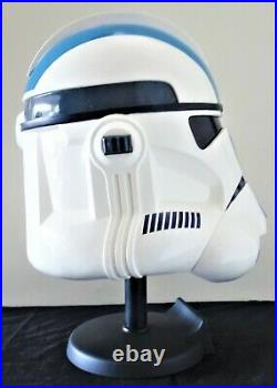 Star Wars Master Replicas 501st Clone Trooper Helmet Mask Bust Figure Statue