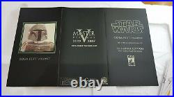 Star Wars Master Replicas Boba Fett Helmet Signature Edition Mandalorian