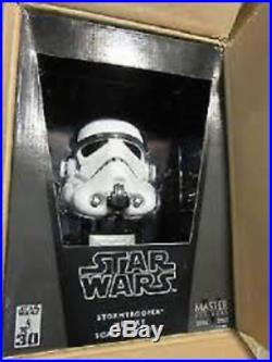 Star Wars Master Replicas STORMTROOPER. 45 Scaled Mini Helmet Replica New MR357