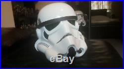 Star Wars Master Replicas STORMTROOPER HELMET lifesize. 2007