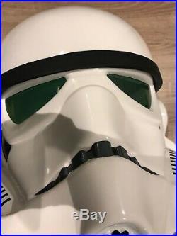 Star Wars Master Replicas STORMTROOPER HELMET lifesize 2007 lucasfilm Ltd RARE