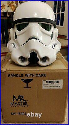 Star Wars Master Replicas Stormtrooper Helmet ANH 2007 SW-153 Collectors Edition