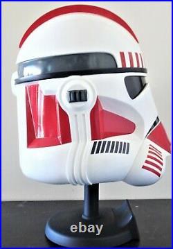 Star Wars Master Replicas Sw-145 Shocktrooper Helmet Bust Figure Statue Le Rare