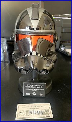 Star Wars Master Replicas UTAPAU SHADOW TROOPER SW-371 Scaled Helmet VERY RARE