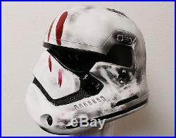 Star Wars Prop Ep 7 Force Awaken Battle Damage Stormtrooper armor helmet adult