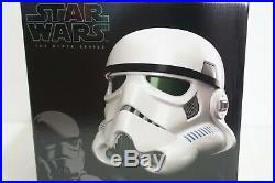 Star Wars Rogue One Black Series Stormtrooper Voice Changer Helmet Amazon Excl