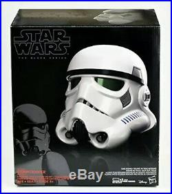 Star Wars Rogue One Black Series Stormtrooper Voice Changer Helmet New