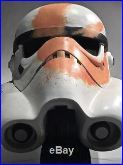 Star Wars STORMTROOPER REBELS Helmet Prop Mandalorian/EFX/Anovos/Darth Vader
