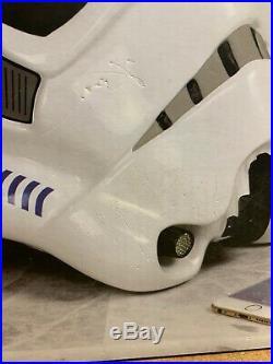 Star Wars Shepperton Design Studios Battle Stormtrooper Helmet BNIB