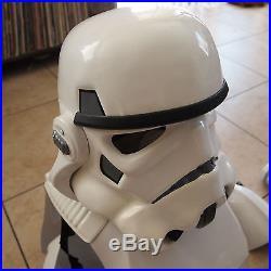 Star Wars Storm Trooper Stormtrooper Costume Armor Life Size Movie Prop & Helmet