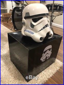 Star Wars Storm Trooper helmet (New) Anovos