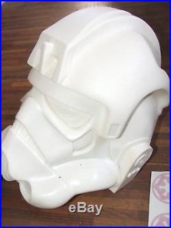 Star Wars Stormtrooper At At Drivers Pilot Helmet Full Size