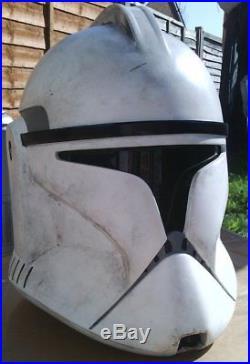 Star Wars Stormtrooper Clonetrooper Raw full size helmet Movie prop