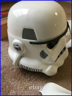 Star Wars Stormtrooper Costume Helmet Armor Blaster Boots Gloves