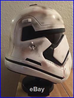 Star Wars Stormtrooper First Order Finn FN-2187 Traitor Helmet Prop Replica