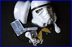 Star Wars Stormtrooper HELM Kit 11 Kostüm Rüstung Helmet 501 ANH HERO NEU