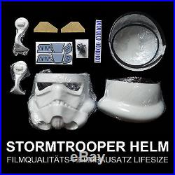Star Wars Stormtrooper HELM Kit 11 Kostüm Rüstung Helmet 501 PREMIUM RECAST NEU