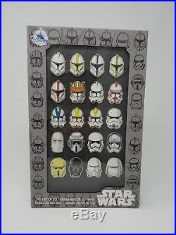 Star Wars Stormtrooper Helmet 20 Pin Set 2017 Disney Store D23 Exclusive LE 500