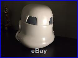 Star Wars Stormtrooper Helmet ABS Vacuum Formed AP Helmet 11 Scale