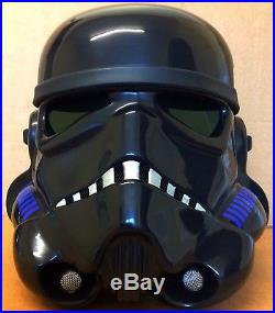 Star Wars Stormtrooper Helmet / Armour Rare Black Shadow Cosplay / Prop
