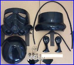 Star Wars Stormtrooper Helmet Complete ABS Black / Shadow Kit