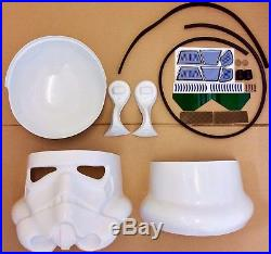 Star Wars Stormtrooper Helmet Kit Complete With All Parts / Decals