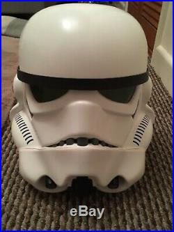 Star Wars Stormtrooper Helmet Master Replicas 1/1 life Size not bust efx