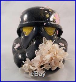 Star Wars Stormtrooper Helmet One Of A Kind Multimedia Art by Kazue Tsuda