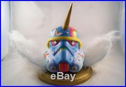 Star Wars Stormtrooper Helmet One Of A Kind Multimedia Art by Randi Cohn