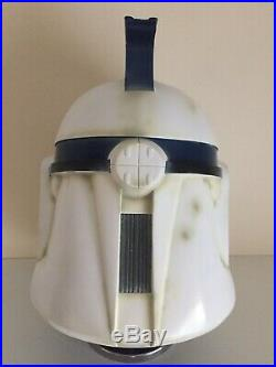 Star Wars Stormtrooper Helmet Prop ATOTC Clone Trooper Phase I Commander Helmet