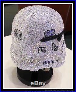 e0e9939d4 Star Wars Stormtrooper Helmet Swarovski Crystal Worldwide Limited Edition