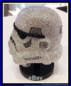 Star Wars Stormtrooper Helmet Swarovski Crystal Worldwide Limited Edition
