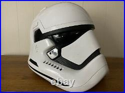 Star Wars Stormtrooper Helmet TFA Force Awakens Prop Movie Screen Used