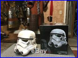 Star Wars Stormtrooper Helmet Weathered Sand Trooper Cosplay Voice Changer