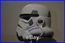 Star Wars Stormtrooper Hero Helmet Full Size Vacuum Formed Plastic Prop Armour