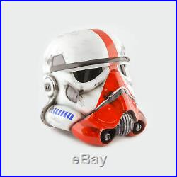 Star Wars Stormtrooper Incinerator Trooper Helmet with Damage