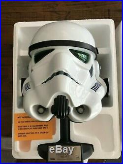 Star Wars Stormtrooper Life-Size Helmet 11 Master Replicas Fiberglass RARE LE