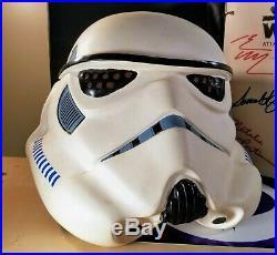 Star Wars Stormtrooper Prototype Helmet 2oth Century Attack Of Clones Script