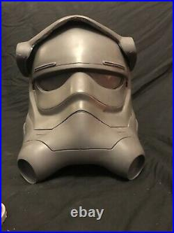 Star Wars TFA / TLJ / TROS Tie Fighter Pilot Not Stormtrooper Raw Cast Helmet